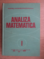 Anticariat: Analiza matematica (volumul 1)
