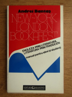 Andrei Bantas - New York, London, Bookarest. Engleza prin literatura, literatura prin traduceri