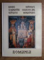 Anticariat: Biserici si manastiri ortodoxe , Orthodox chvrches and monasteries, Romania