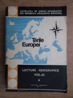 Anticariat: Lecturi geografice. Tarile Europei (volumul 3)