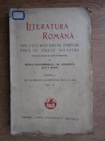 Mihail Dragomirescu - Literatura romana (1931), (volumul 2)