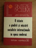 Anticariat: Mircea N. Popa - O istorie a gandirii si miscarii socialiste internationale in epoca moderna