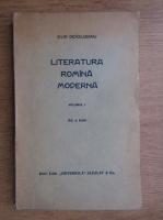 Ovid Densusianu - Literatura romana moderna (1929, volumul 1)