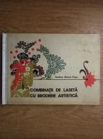 Anticariat: Vasilica Zidaru Popa - Combinatii de laseta cu broderie artistica