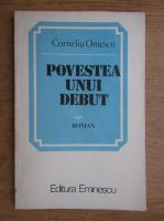 Anticariat: Corneliu Omescu - Povestea unui debut