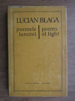Anticariat: Lucian Blaga - Poemele luminii (editie bilingva romana-engleza)