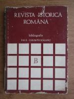 Anticariat: Paul Cernovodeanu - Revista istorica romana