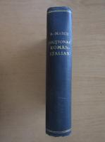 Anticariat: Alexandru Marcu - Dictionar roman-italian (1930)