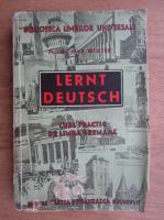 Max Richter - Lernt Deutsch! Curs practic de limba germana (1940)