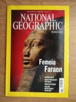 Revista National Geographic. Femeia Faraon (aprilie 2009)