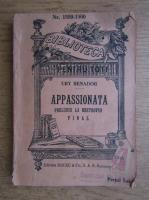 Ury Benador - Appassionata. Preludiu la Beethoven. Final (1940)