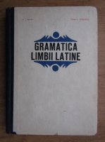 Anticariat: N. I. Barbu - Gramatica limbii latine