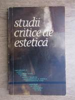 Anticariat: Studii critice de estetica