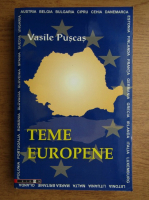 Vasile Puscas - Teme europene