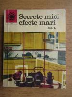 Anticariat: Mariana Ionescu - Secrete mici efecte mari (volumul 1)