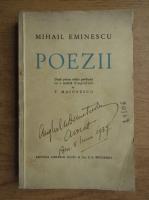 Anticariat: Mihail Eminescu - Poezii (1936)