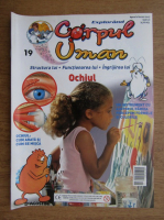 Anticariat: Revista explorand corpul uman. Ochiul. Nr. 19