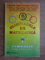 Stefan Smarandoiu - Olimpiadele de matematica 1990-1998, gimnaziu, clasa a IV-a si a V-a