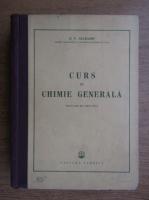 B. V. Necrasov - Curs de chimie generala