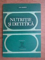 Dan Sdrobici - Nutritie si dietetica