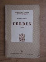 Anticariat: Eusebiu Camilar - Cordun (1942)