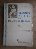Anticariat: G. Gane - Trecute vieti de doamne si domnite (1941)
