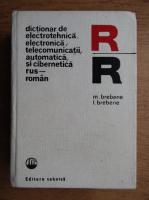 Anticariat: Mircea Petrescu - Dictionar de electrotehnica, electronica, telecomunicatii, automatica si cibernetica rus-roman