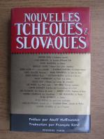 Nouvelles tcheques et slovaques
