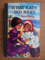 Anticariat: Susan Coolidge - What Katy did next