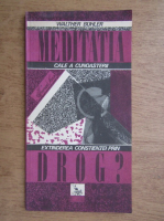 Anticariat: Walther Buhler - Meditatia cale a cunoasterii, Extinderea constiintei prin drog