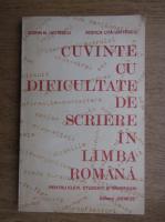 Dorin N. Uritescu - Cuvinte cu dificultate de scriere in limba romana