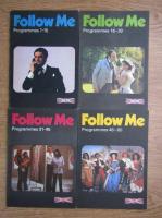 Anticariat: Follow me. Programmes 1-15, 16-30, 31-45, 46-60 (4 volume)