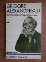 Anticariat: Grigore Alexandrescu - Suvenire si impresii