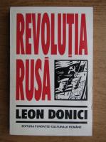 Leon Donici - Revolutia Rusa