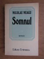 Anticariat: Nicolae Neagu - Somnul