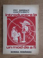 Piu Serban - Introducere un mod de a fi