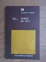 Anticariat: Sofia Popescu - Forma de stat