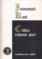 Anticariat: Immanuel Kant - Critica ratiunii pure (ed. Iri, cartonata)
