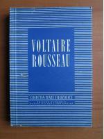 Anticariat: Voltaire Rousseau (Colectia Texte Filosofice)