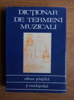 Anticariat: Zeno Vancea - Dictionar de termeni muzicali