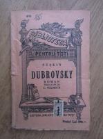 Anticariat: Alexandru Puskin - Dubrovsky (1909)