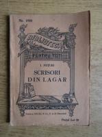 Ion Popescu Puturi - Scrisori din lagar (1931)