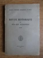 Anticariat: Revue historique du Sud-Est Europeen