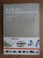 Anticariat: St. Mihailescu - Masini de constructii (volumul 1)