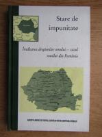Anticariat: Stare de impunitate. Incalcarea drepturilor omului, cazul romilor din Romania