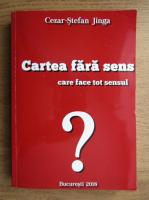 Cezar Stefan Jinga - Cartea fara sens care face tot sensul