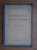 I. Petrovici - Momente solemne (1943)