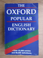 The Oxford popular english dictionary