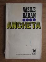Anticariat: Vasile Baran - Ancheta