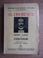 Alexandru Odobescu - Opere alese (volumul 1, 1941)
